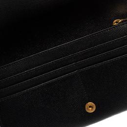 Saint Laurent Black Leather Kate Clutch Yves Saint Laurent 381921
