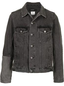 Ksubi джинсовая куртка с контрастной вставкой 5000005213
