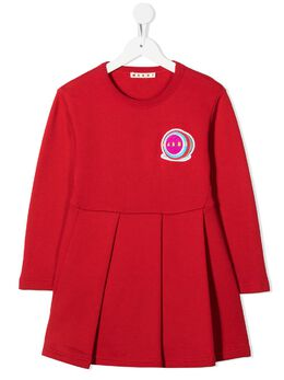 Marni Kids платье мини со складками BKMBM002QJBK0IN