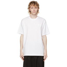 Y-3 White Classic Chest Logo T-Shirt FN3359