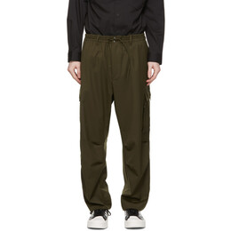 Y-3 Khaki Wool CL Cargo Pants GV4142