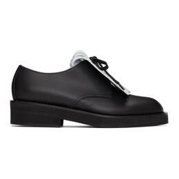 Marni Black Laced Oxfords ALMS005103 P3762