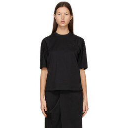 Y-3 Black Classic Tailored T-Shirt GK4468