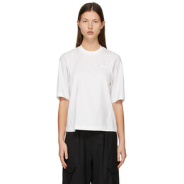 Y-3 White Classic Tailored T-Shirt GK4467