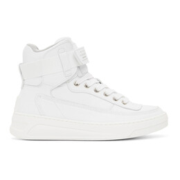 Acne Studios White High-Top Sneakers AD0341-