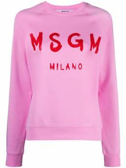 MSGM толстовка с логотипом 3041MDM89217299