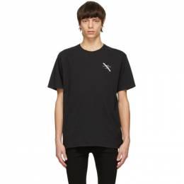 Saturdays Nyc Black Gotham Slash Chest T-Shirt AA0029PT22