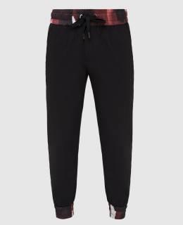 Черные спортивные брюки из шерсти Dolce&Gabbana 2300006587795