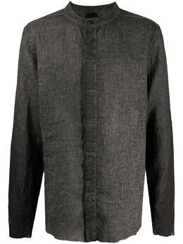 Thom Krom рубашка на пуговицах без воротника MH115