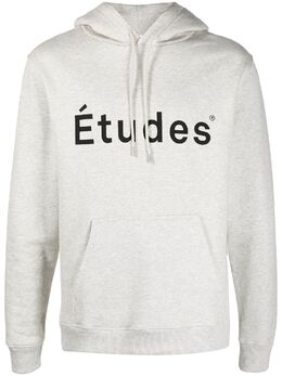 Etudes худи с логотипом E18M101