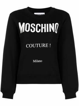 Moschino толстовка с принтом Couture A17170527