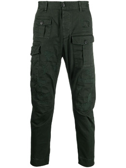 Dsquared2 distressed cargo trousers S74KB0537S39021