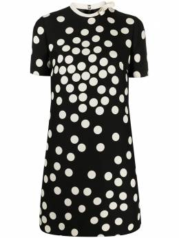 Valentino polka dot shift dress VB3VAUW1660