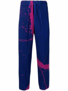 Homme Plisse Issey Miyake Splash tapered pleated trousers HP16JF222