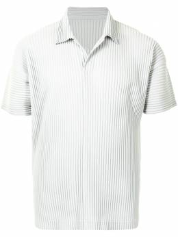 Homme Plisse Issey Miyake pleated short-sleeved polo shirt HP16JM030