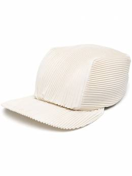 Homme Plisse Issey Miyake pleated cinched back cap HP17AA506