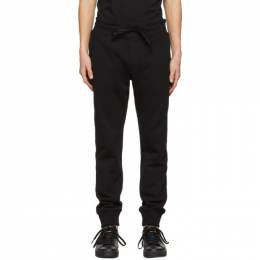 Versace Jeans Couture Black Cuffed Lounge Pants EA2GWA1TB E30318