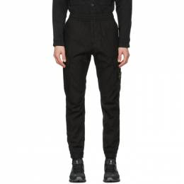 Stone Island Black Cotton Cargo Pants 741531303