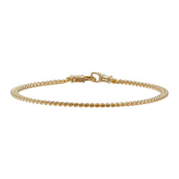Tom Wood Gold Curb Chain M Bracelet B13029CBM01S925-9k