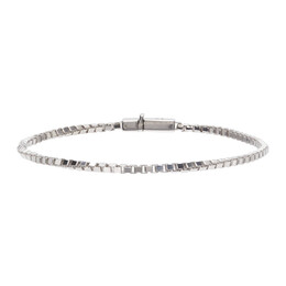 Tom Wood Silver Square Chain Bracelet B01019VBX01S925
