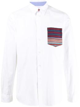 Ps by Paul Smith рубашка из органического хлопка с длинными рукавами M2R688UF21175