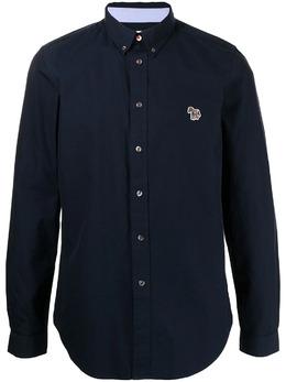 Ps by Paul Smith рубашка с нашивкой M2R599RFZEBRA