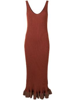 Altuzarra платье Marjoram в рубчик 8302KYS002