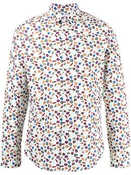 Ps by Paul Smith рубашка с цветочным принтом M2R433RF21244