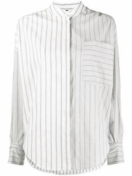 Lorena Antoniazzi рубашка в полоску P2134CA0113355