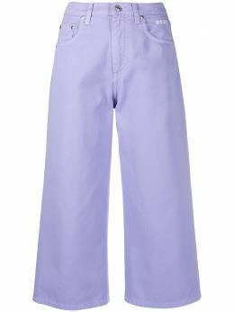 MSGM укороченные джинсы с завышенной талией 3041MDP52TX217282