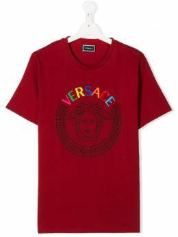 Young Versace футболка с принтом Medusa YD000078YA00079