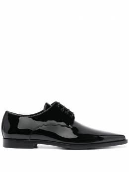 Dsquared2 туфли на шнуровке с заостренным носком LUM006324903914