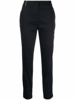 Peserico укороченные брюки кроя слим P0470700981