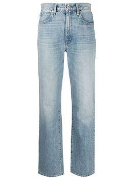 Slvrlake прямые джинсы средней посадки LNDJ707S