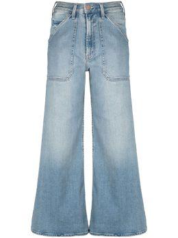 Mother широкие джинсы с завышенной талией 10057686