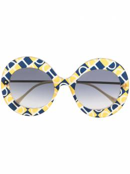 Gucci Eyewear солнцезащитные очки в массивной оправе GG0894S001