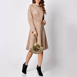 Fendi Metallic Tri Color Fabric And Snakeskin Clutch 381724