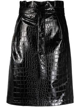 Philosophy Di Lorenzo Serafini юбка из искусственной кожи со змеиным узором V01010741