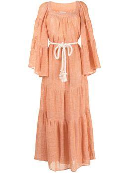 Lisa Marie Fernandez платье с поясом 2020HS129ORCG