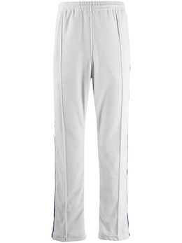 Needles спортивные брюки с отделкой в полоску IN187