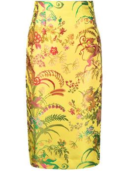 Etro floral print pencil skirt 141471580