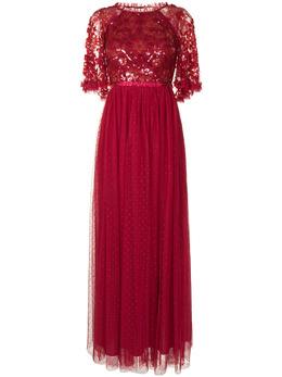 Needle & Thread платье макси с пайетками DGSS52RPS21DRD