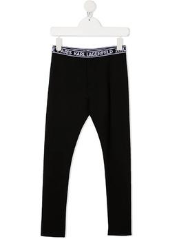 Karl Lagerfeld Kids легинсы с логотипом Z1414809B