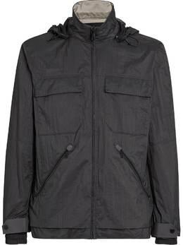Z Zegna куртка на молнии со съемным капюшоном VW030ZZ140