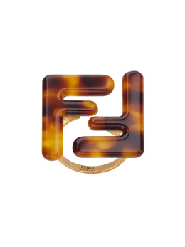 Fendi массивное кольцо с логотипом 8AH019RQ5
