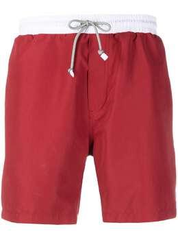 Brunello Cucinelli плавки-шорты в стиле колор-блок MQ828038CT387