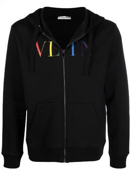Valentino худи с логотипом VV3MF11I73B
