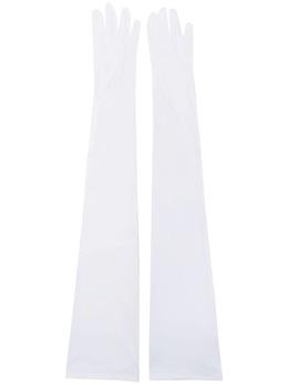 Mm6 Maison Margiela длинные перчатки с логотипом S62TS0042S20518