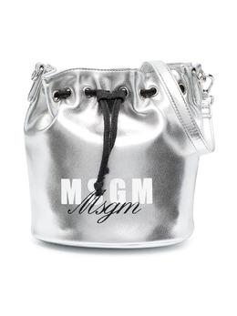 MSGM Kids сумка-ведро с логотипом MS027076