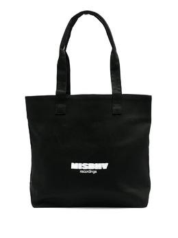 Misbhv сумка-тоут Recordings с логотипом 021A291